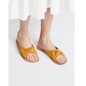 Jeffrey Campbell Yellow Zocalo Slide Sandals